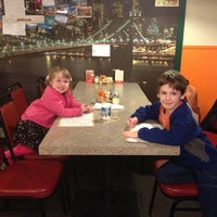 Photo taken at Joes New York Pizza by Sassygal on 11/8/2012