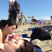 Photo taken at Mama/Dune Beach by Daniele M. on 6/2/2014