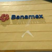 Photo taken at Banamex by Rubén L. on 7/1/2016