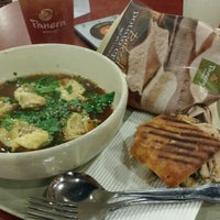 Photo taken at Panera Bread by Rubén L. on 2/14/2016