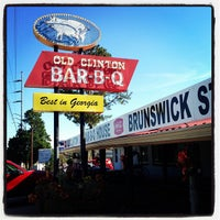 Photo taken at Old Clinton Bar-B-Q by stanley l. on 11/2/2012