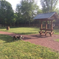 Photo taken at Tower Park Large Dog Park by Leah N. on 5/11/2016
