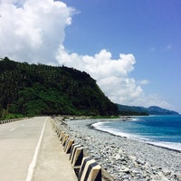 Photo taken at Ampir Beach by Krizelle P. on 5/3/2014