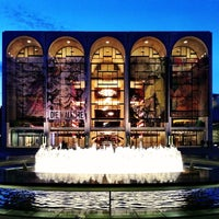 Photo taken at Josie Robertson Plaza (Lincoln Center Plaza) by Clay F. on 3/11/2013
