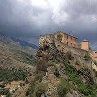 Photo taken at Citadelle de Corte by Graziella P. on 7/11/2013