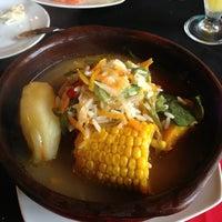 Photo taken at restaurante el rancho by Carlos M. on 2/1/2013