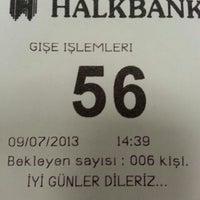 Photo taken at Halkbank Mimaroba Şubesi by 'Altuğ T. on 7/9/2013