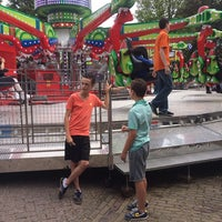Photo taken at Monsigneur Zwijsenplein by Geoffrey v. on 7/13/2014