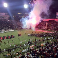Photo taken at Nippert Stadium by Philip G. on 11/24/2012