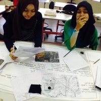 Photo taken at Studio Perancangan Bandar dan Wilayah UiTM Perak by Farhana R. on 1/17/2015