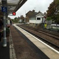 Photo taken at Saxmundham Railway Station (SAX) by Robin F. on 8/17/2017
