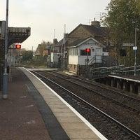 Photo taken at Saxmundham Railway Station (SAX) by Robin F. on 11/15/2017