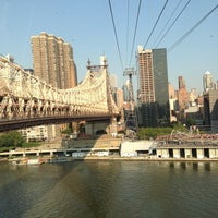 Photo taken at Roosevelt Island Tram (Manhattan Station) by Tim S. on 8/21/2013