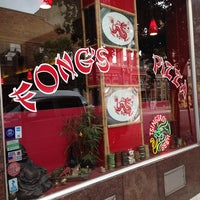 Photo taken at Fong's Pizza by Paulette L. on 6/21/2013