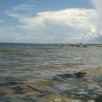 Photo taken at Pantai Boom Tuban by Awan S. on 4/2/2016