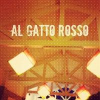 Photo taken at Gatto Rosso by Giorgia M. on 7/7/2013
