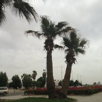 Photo taken at King Abdulaziz Rd by Red F. on 1/30/2013