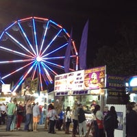 Photo taken at North Carolina State Fairgrounds by Christin H. on 10/18/2012
