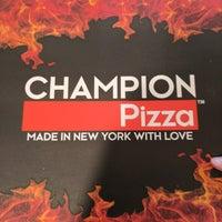 Photo taken at Champion Pizza Soho by Bill C. on 9/29/2017