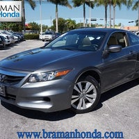 Photo Taken At Braman Honda By Braman Honda On 10/20/2014 ...