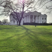 Photo taken at The White House Southeast Gate by Brian R. on 12/25/2012