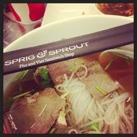 Foto scattata a Sprig & Sprout da Michael N. il 2/16/2013