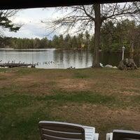 Photo taken at Whispering Pine Lodge by Dennis B. on 5/16/2014