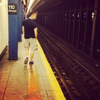 Photo taken at MTA Subway - Cathedral Pkwy/110th St (1) by Chase L. on 10/2/2013