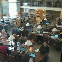 Photo taken at Darien Library by hugh s. on 11/1/2012