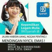 Photo taken at Bank BRI Syariah by Rahadian L. on 3/11/2013
