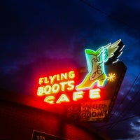 Photo taken at Flying Boots by Peter A. on 4/5/2014