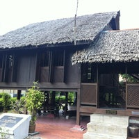 Photo taken at P. Ramlee's House by Elisa E. on 1/30/2013