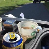 Photo taken at McCann Golf Course by Nick B. on 7/27/2015