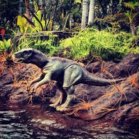 Photo taken at Jurassic Park: The Ride by Juliet S. on 5/6/2013