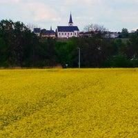Photo taken at Alte Fähre Hochheim by Darren A. on 4/20/2014