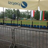 Photo taken at Стадион by JL on 5/25/2013