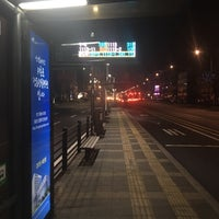 Photo taken at 둔촌2동 주민센터 버스정류장(25-007) by Simon J. on 1/29/2016