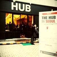 Photo taken at HUB Seoul by Yang Keun K. on 1/11/2013