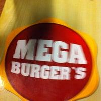 Photo taken at Mega Burger's by Helder P. on 10/28/2012