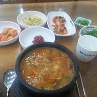 Photo taken at 남원추어탕 by po8orsky on 4/9/2013