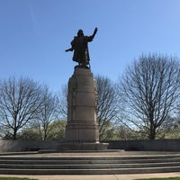 Photo taken at Christopher Columbus Monument by Carl Brioschi by Joseph A. on 4/23/2017