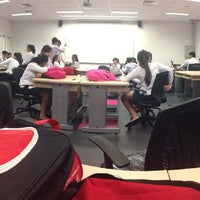 Photo taken at Room 1221 : ITE college West by Jaslyn T. on 1/23/2015