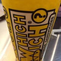 Photo taken at Which Wich? Superior Sandwiches by Amy R. on 4/11/2016