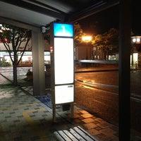 Photo taken at 宇野駅前バスターミナル by ysbay98 m. on 6/1/2013