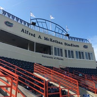 Photo taken at McKethan Stadium at Perry Field by Ralph on 5/3/2016