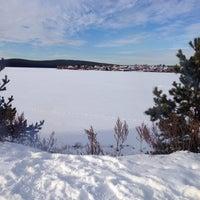 Photo taken at Бессонова гора by Алексей П. on 11/15/2014