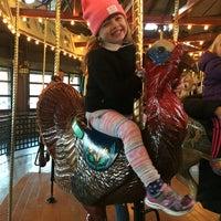 Photo taken at Bear Mountain Carousel by Elizabeth I. on 11/27/2016