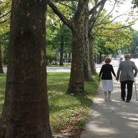 Photo taken at Peck Park by Elizabeth I. on 8/10/2013