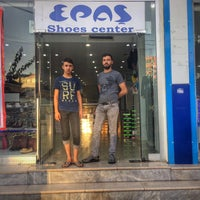 Photo taken at Epaş Shoes Center by Vedat K. on 7/8/2017