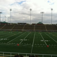 Photo taken at Seacrest Field by Nikki B. on 10/13/2012